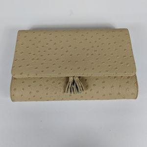 Koret Clutch Purse Vintage Textured Polka Dot